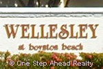 Wellesley community sign